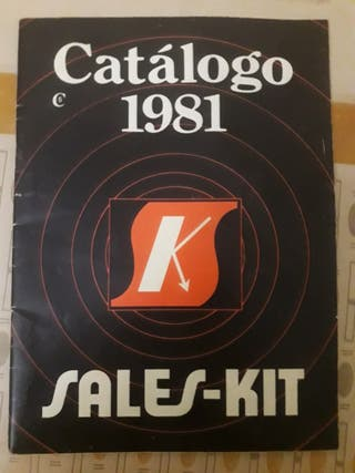 catalogo sales kit 1981