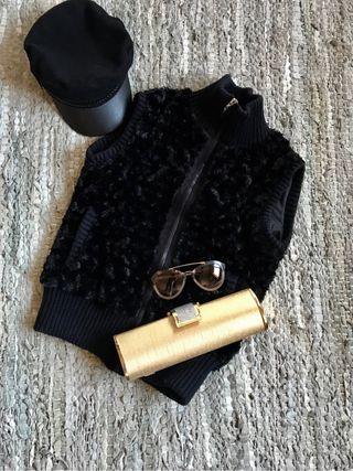 Chaleco negro