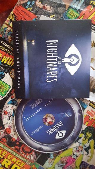"cd musica banda sonora ""LITTLE NIGHTMARES"""