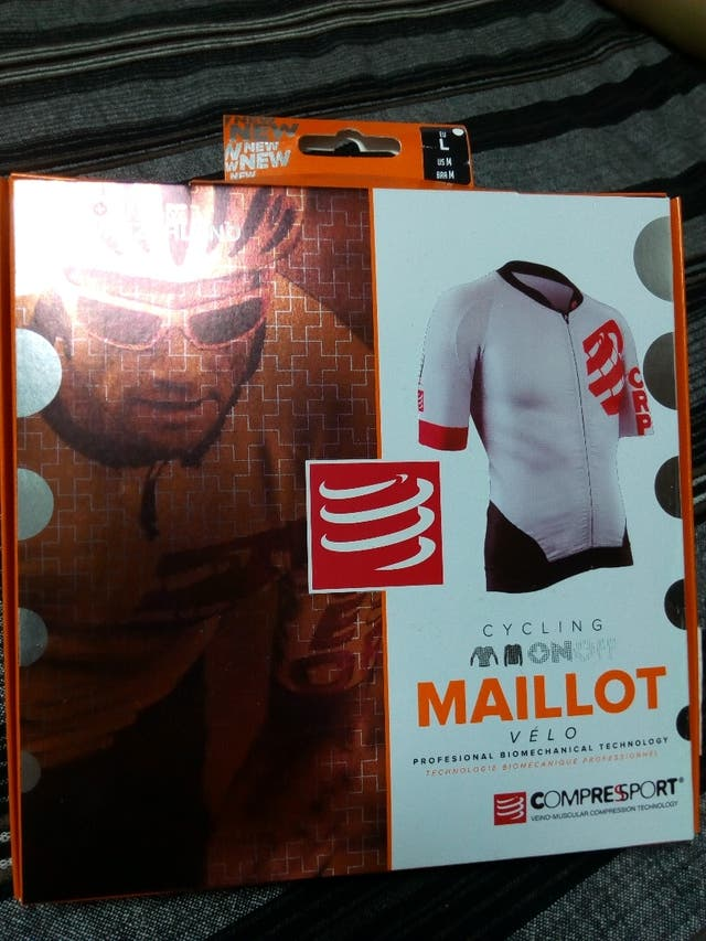 Maillot COMPRESSPORT ON/OFF