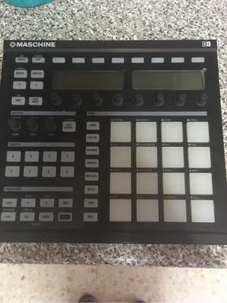 Caja de ritmos Maschine - native instruments
