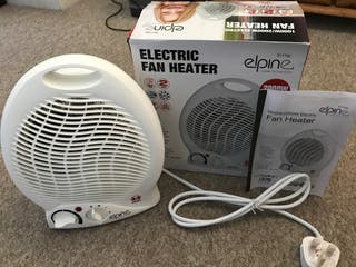 Fan Heater with 2 Heat Setting and cool blow NEW