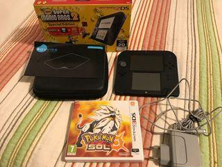 Nintendo 2DS Azul/Negra