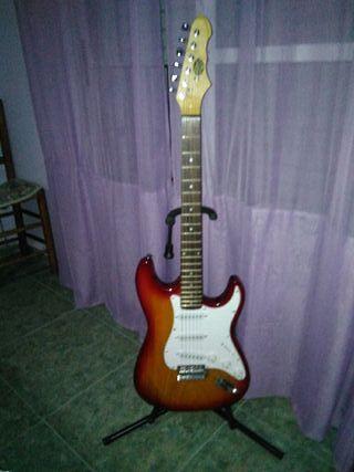 Guitarra eléctrica ofusa