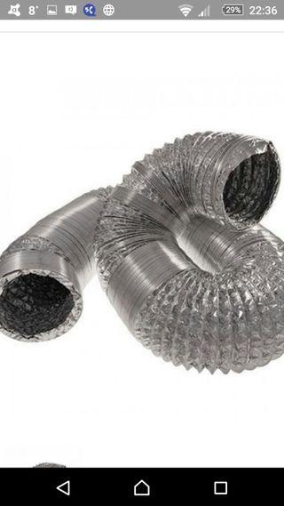 tubo aluminio flexible 203 mm cultivo interior gro
