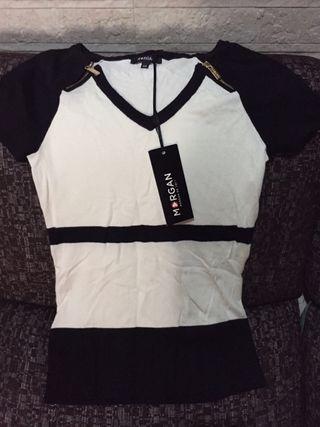 Camiseta mujer, nueva marca morgan
