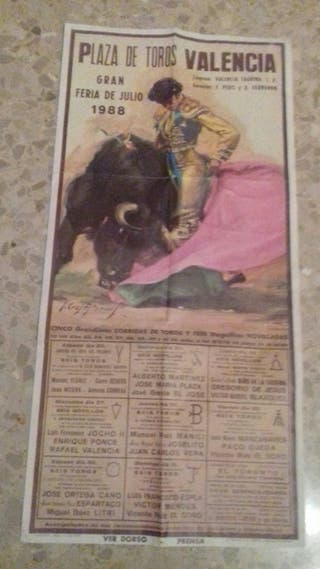 cartel taurino 1988