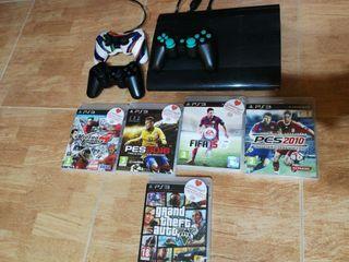 Consola Ps3 y juegos ps3