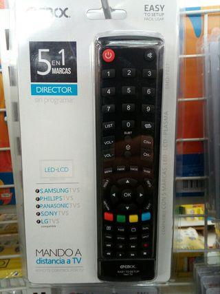 mando televisión universal sin codigos