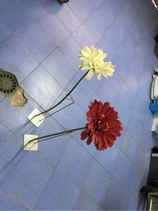 Flor de decoracion 1m