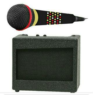 Microfono y amplificador .Eurekakids nuevo