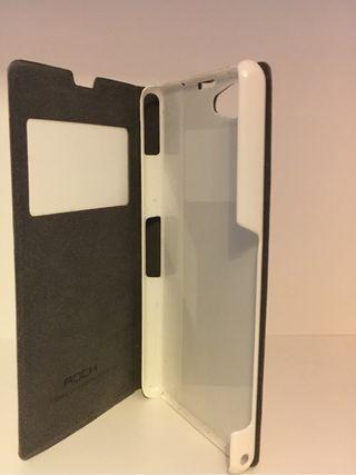 Funda libro Xperia Z1 Compact