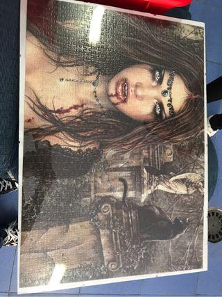 Cuadro puzzle gotico