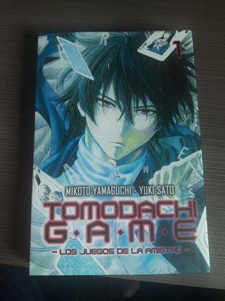 Tomodachi game Tomo 1 Manga