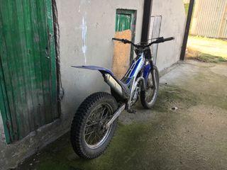 Moto de trial gas gas 280
