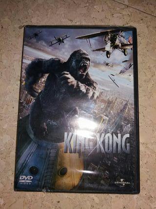 dvd king kong original precintado