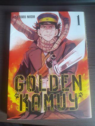 Golden kamuy Tomo 1 Manga
