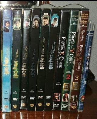 Lote películas en dvd