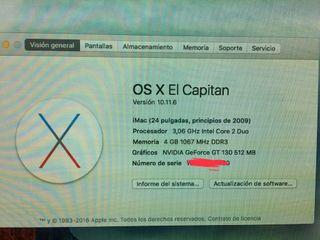 iMac principios 2009