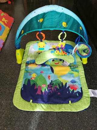Parque de bebé Bright Starts Light Up Lagoon