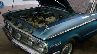coche clasico año 1960