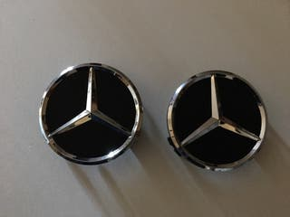 Set 4 Tapabujes Mercedes Benz Estrella -2 colores