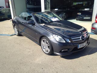 Mercedes E250 cdi cabrio