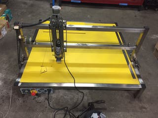 Fresadora cnc plasma laser tig impresora 3d