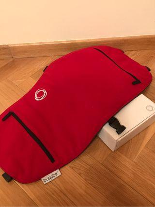 Solapa bolso Bugaboo rojo