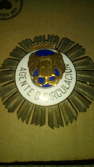 medalla policia