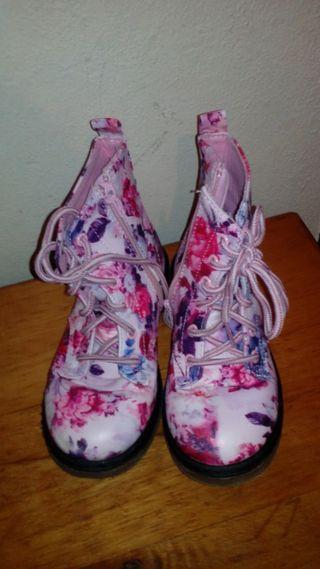 Botas cómoda