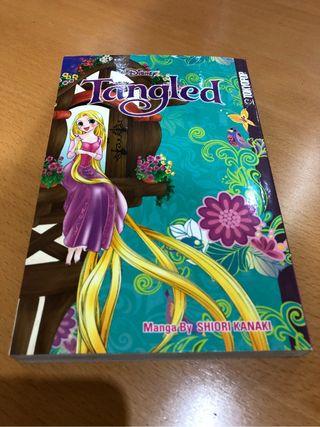 Manga Enredados Tangled Rapunzel Disney Tokyopop