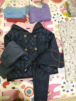 lote 10 prendas de ropa niña 3-4 años