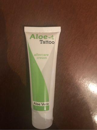 Crema para tatuaje nueva
