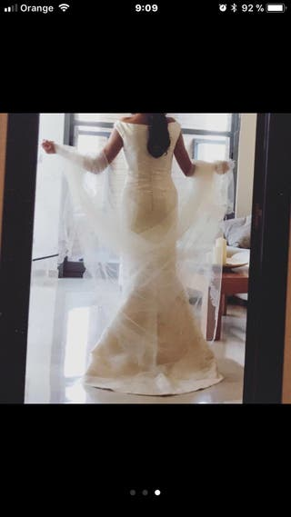"""Vestido de novia """"la Boheme"""""""