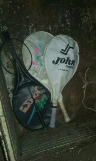 4 raquetas