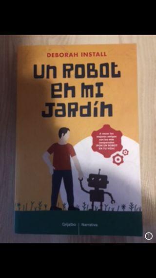 Robot en mi jardin.