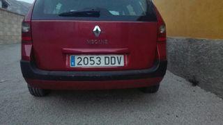 paragolpes trasero Renault Megane