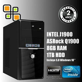 Ordenador PC Intel Quad Core 8GB RAM 1TB HDMI