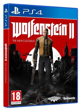 Wolfenstein 2. The New Colossus PS4.