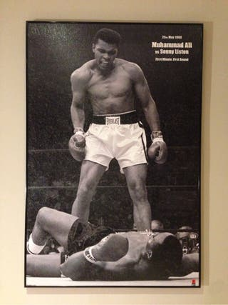 Cuadro Muhammad Ali (boxeo)