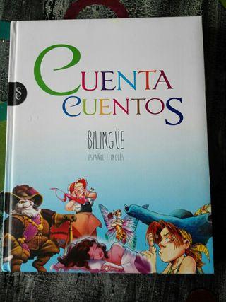 Libro infantil Cuenta cuentos bilingüe