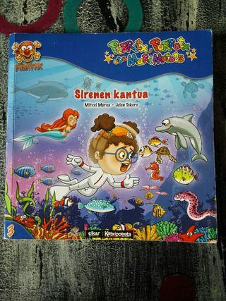 Libro euskera Sirenen Kantua