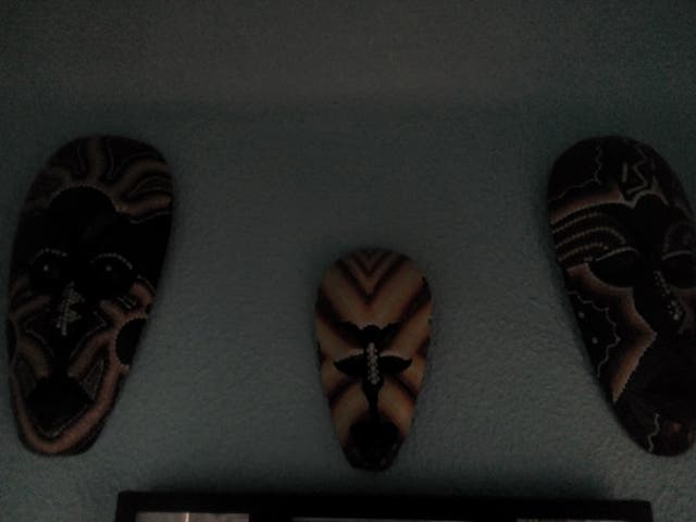 mascaras y figuras madera