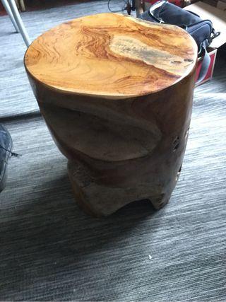 Silla rustica madera de suar