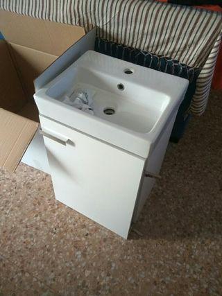mueble baño + pila