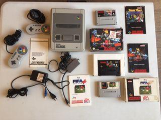Consola SNES Nintendo
