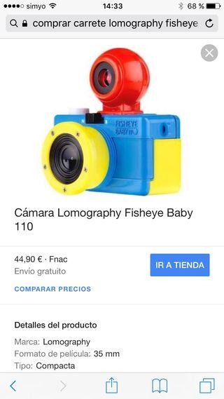 Camara fisheye baby 110