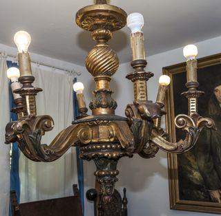 Lámpara de techo estilo Renacimiento