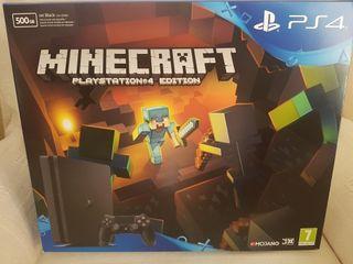 PLAYSTATION 4 SLIM MINECRAFT PS4 EDITION